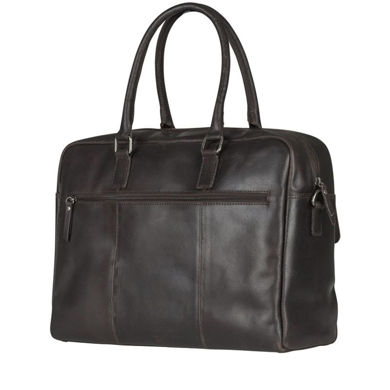 Burkely On The Move Flap Laptoptas Brown-111669