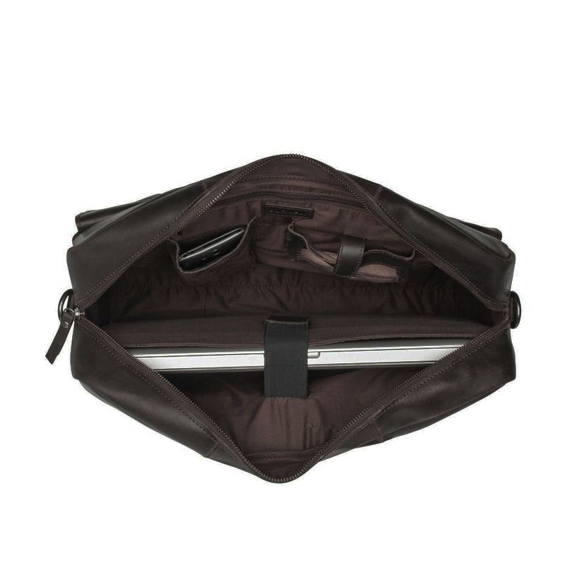 Burkely On The Move Flap Laptoptas Brown-111671