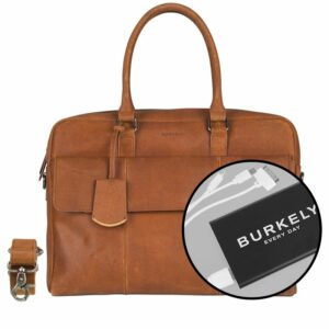 Burkely On The Move Flap Laptoptas Cognac-0