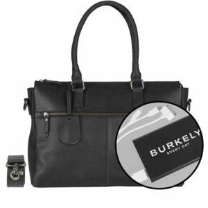 Burkely On The Move Zipper Laptoptas Black-0