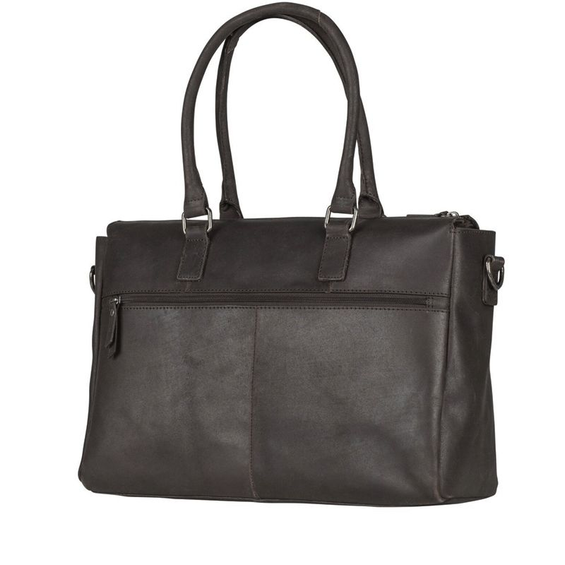 Burkely On The Move Zipper Laptoptas Brown-112096