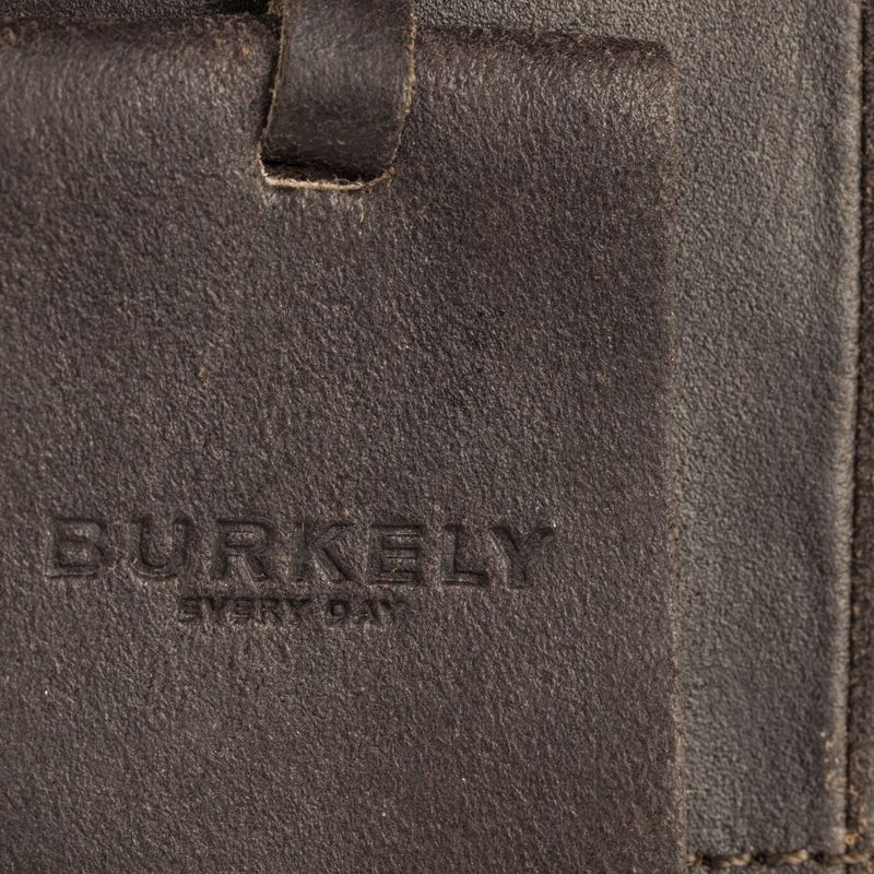 Burkely On The Move Zipper Laptoptas Brown-112099