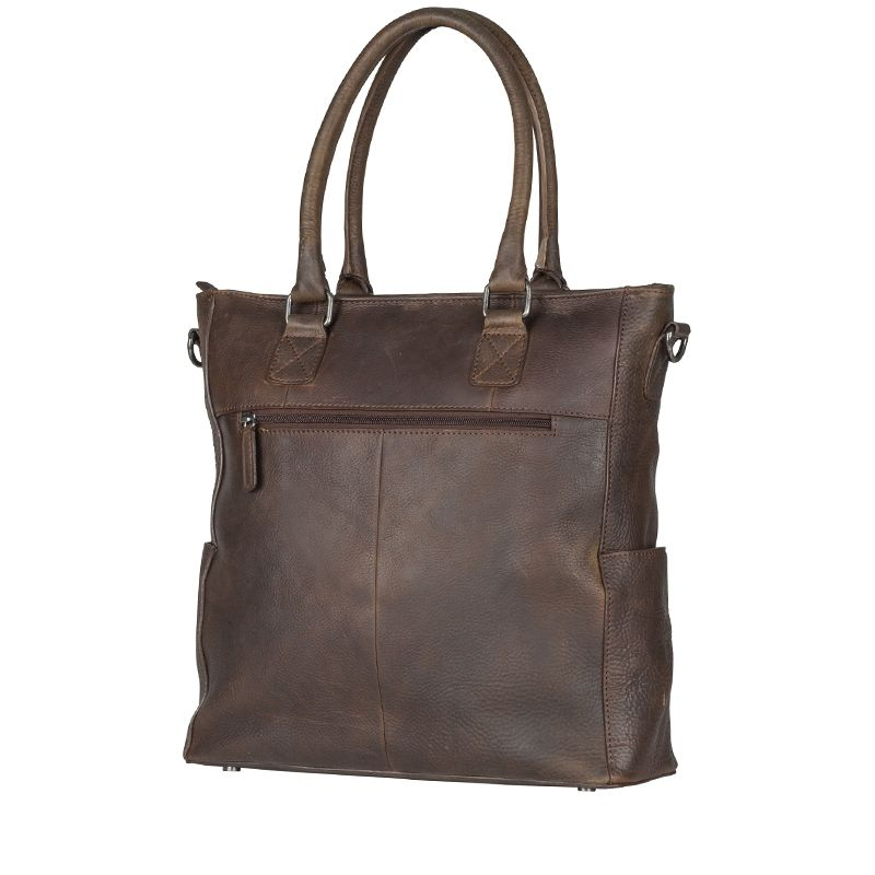 Burkely Antique Avery 13'' Shopper Brown-114327