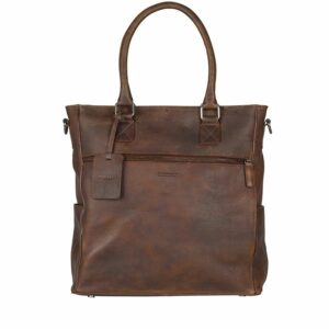Burkely Antique Avery 13'' Shopper Brown-0
