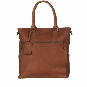 Burkely Antique Avery 13'' Shopper Cognac-0