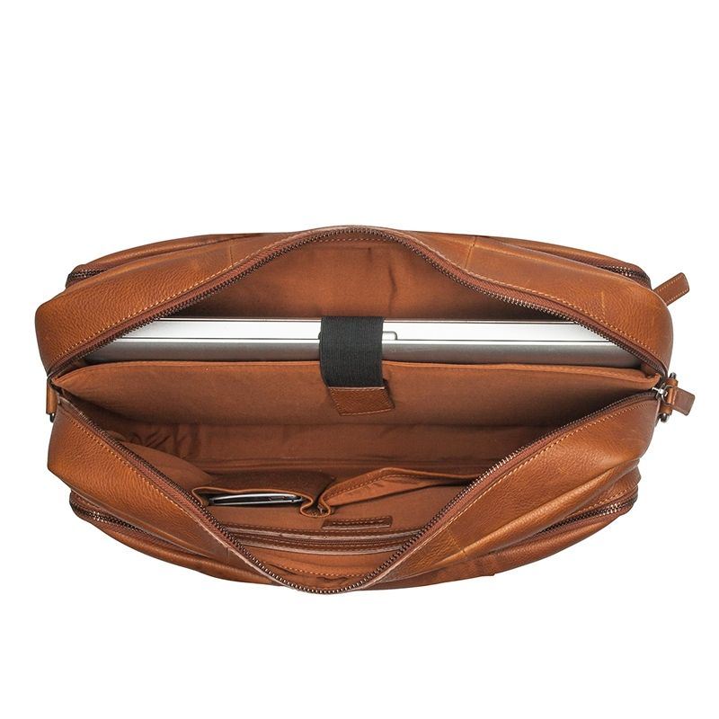 Burkely Antique Avery Workbag 15.6'' Cognac-114357