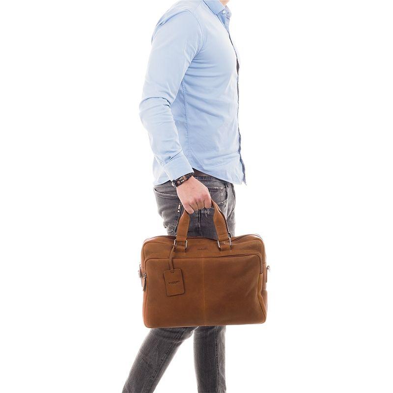 Burkely Antique Avery Workbag 15.6'' Cognac-114358
