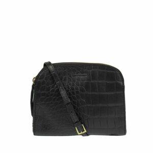 O My Bag Emily Eco Black Croco-0