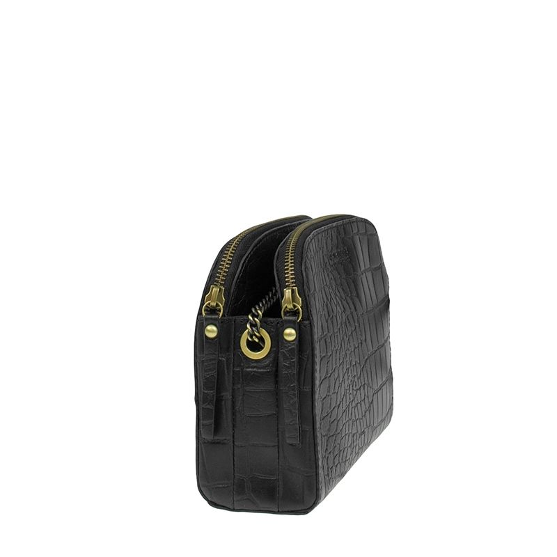 O My Bag Emily Eco Black Croco-118407