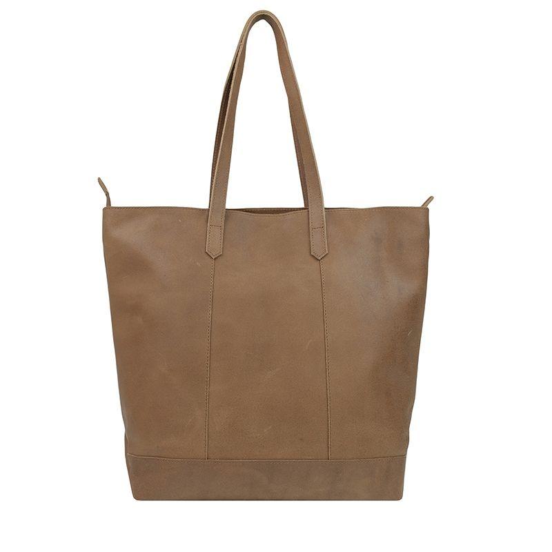 DSTRCT Riverside Shopper Front Pocket Brown-123239
