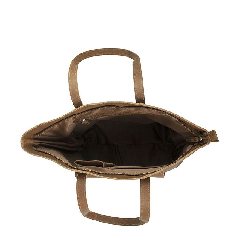 DSTRCT Riverside Shopper Front Pocket Brown-123240