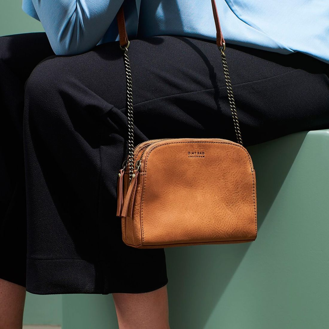 O My Bag Emily Eco Stromboli Camel-134342