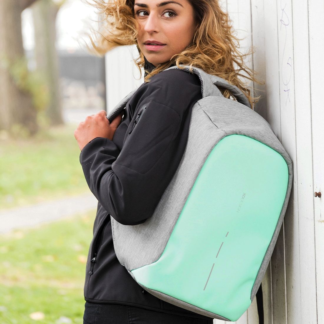 XD Design Bobby Compact Anti-theft Backpack Mint Green-138554