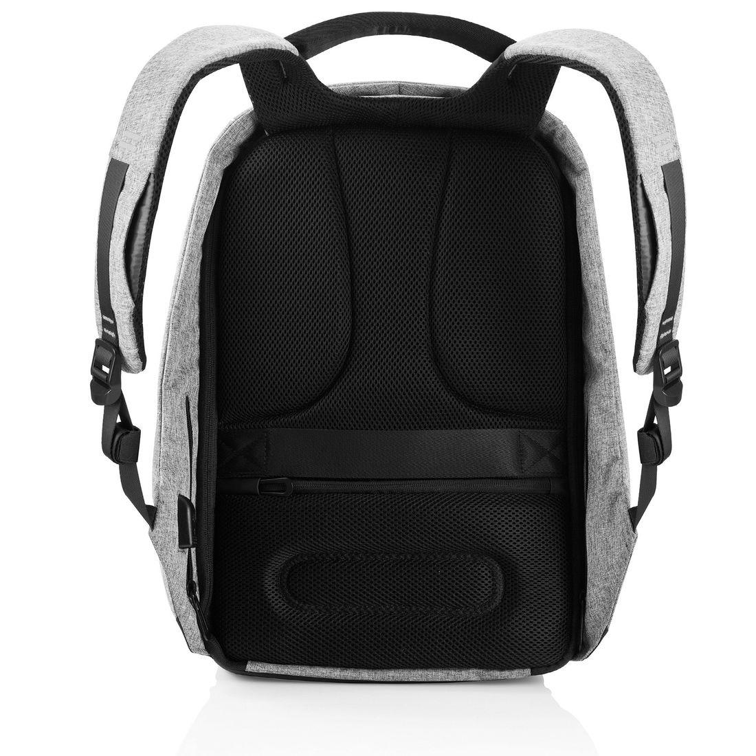 "XD Design Bobby XL Anti-theft Backpack 17"" Grey-138726"