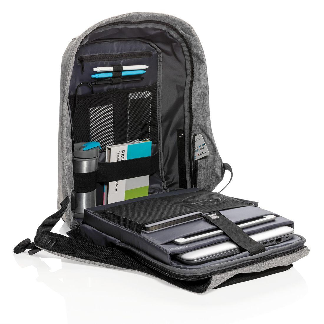 "XD Design Bobby XL Anti-theft Backpack 17"" Grey-138723"