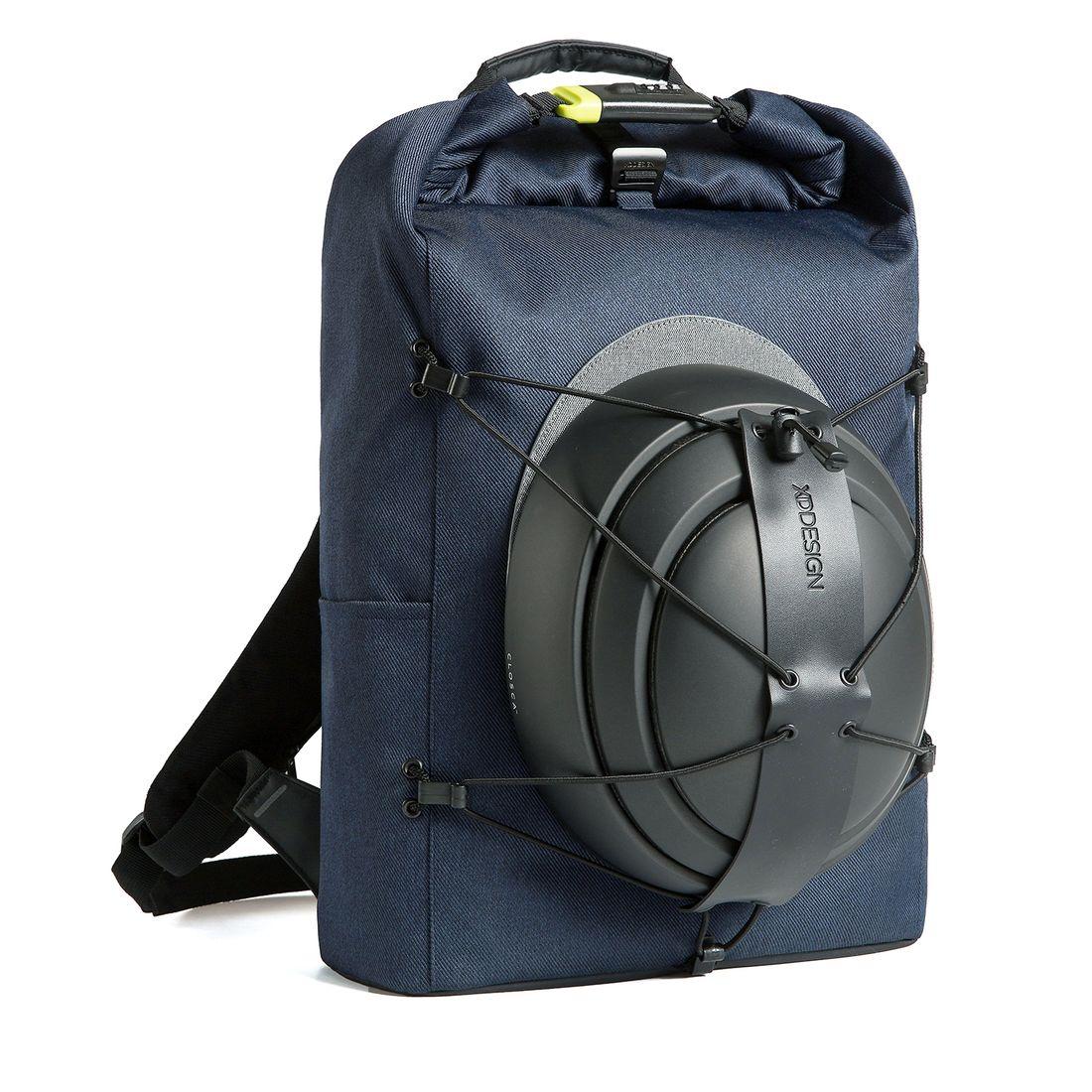 XD Design Bobby Urban Light Anti-theft Backpack Navy Blue-149452