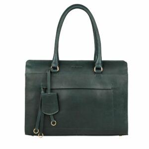 Burkely Sylvie Star Handbag M Peacock Green-0