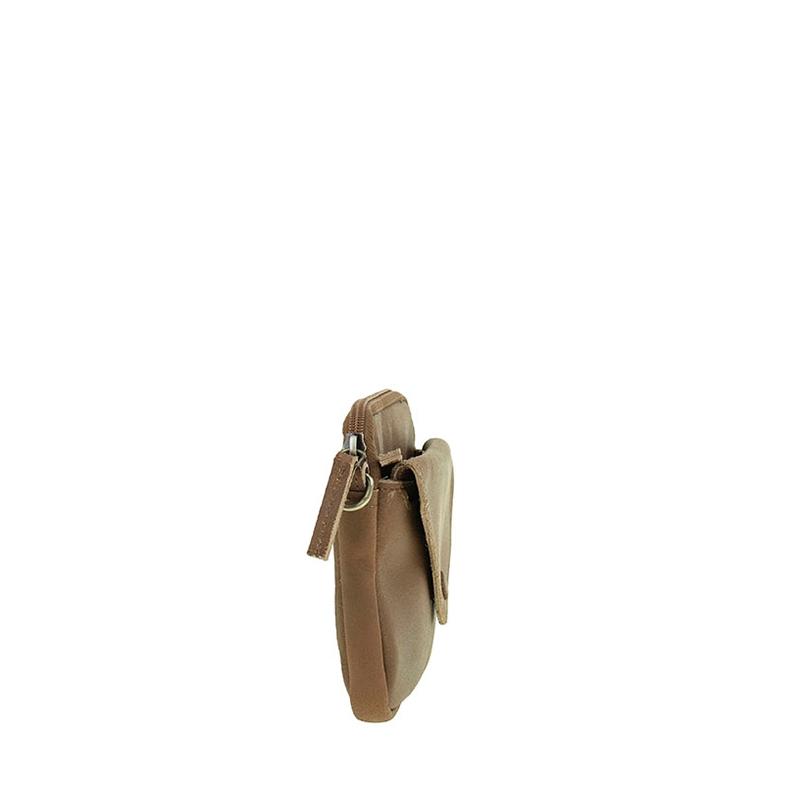 DSTRCT Riverside Clutch Flap Cognac-156505