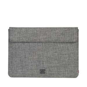 "Herschel Spokane Sleeve for 15"" Macbook Raven Crosshatch-0"