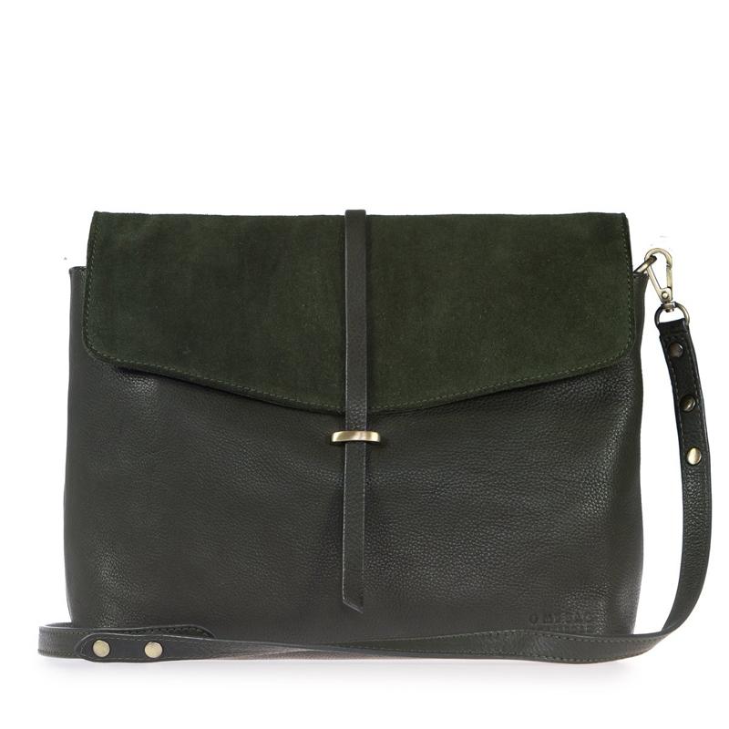 O My Bag Ella Eco-Forest Green-0