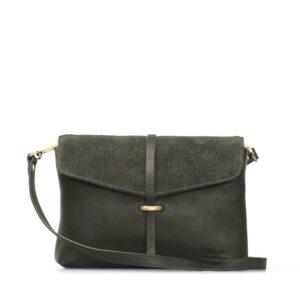 O My Bag Ella Midi Eco-Forest Green-0