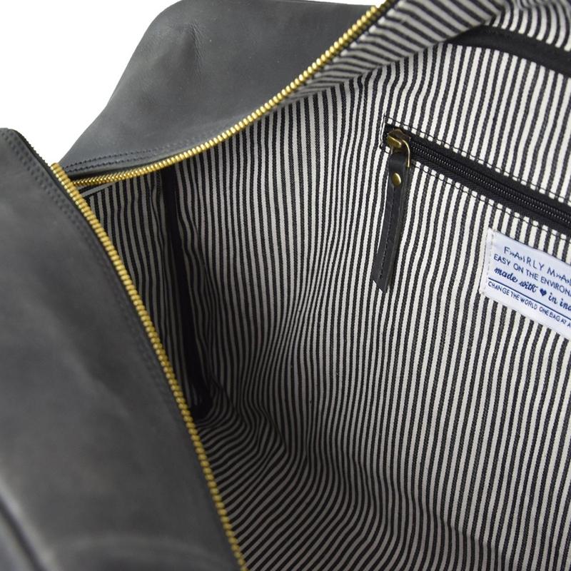O My Bag Otis Weekender Eco-Black-156114