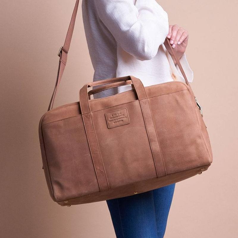 O My Bag Otis Weekender Eco-Camel-156086
