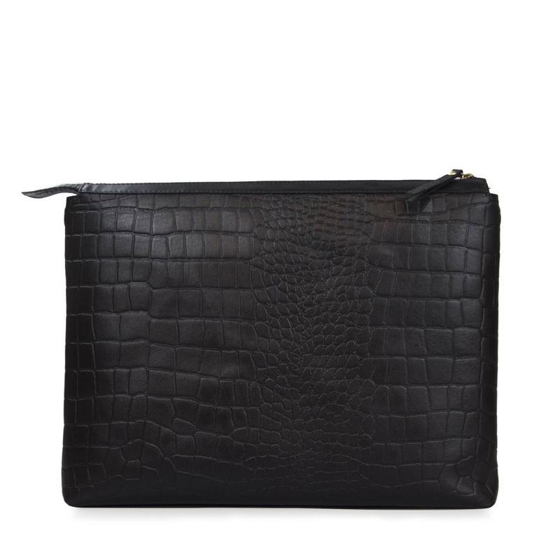 O My Bag Scarlet Eco Classic Black Croco-156107