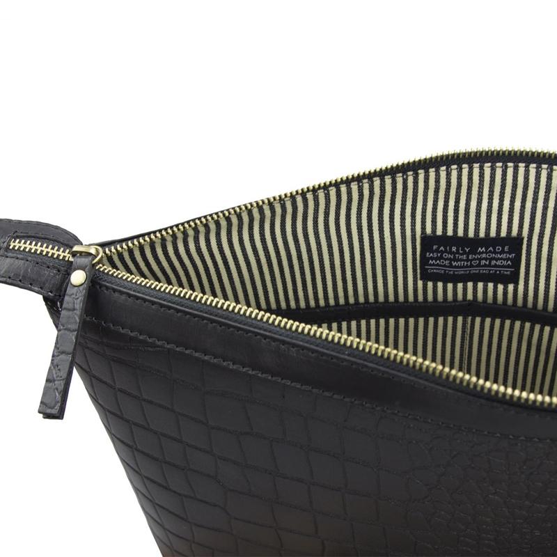 O My Bag Scarlet Eco Classic Black Croco-156108
