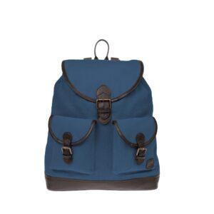 Monbeki Canvas Backpack Blauw-0