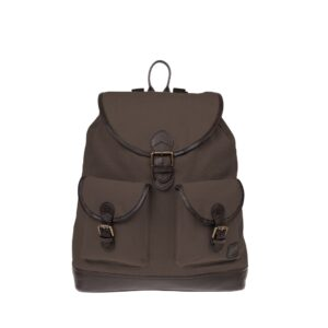 Monbeki Canvas Backpack Bruin-0