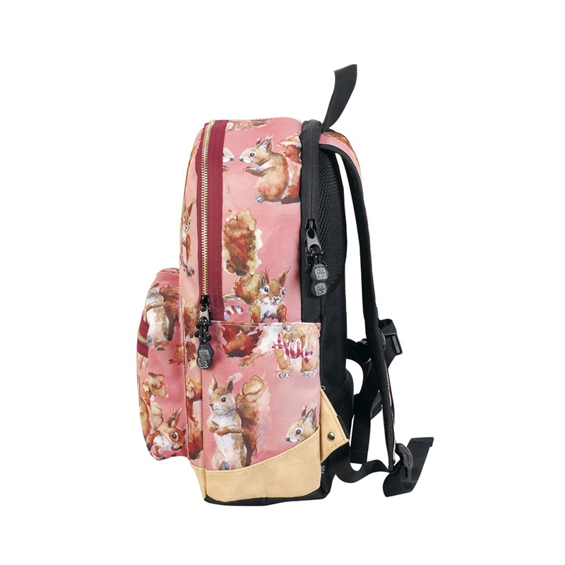 Pick & Pack Backpack Cute Squirrel Pink-157511