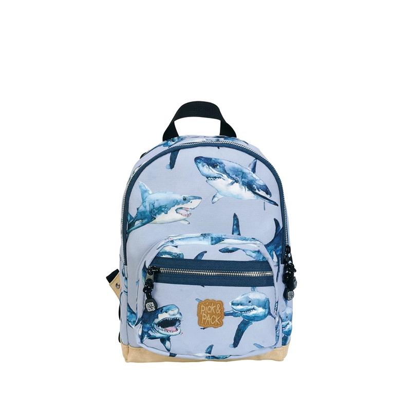 Pick & Pack Backpack Mini Shark Blue-157545