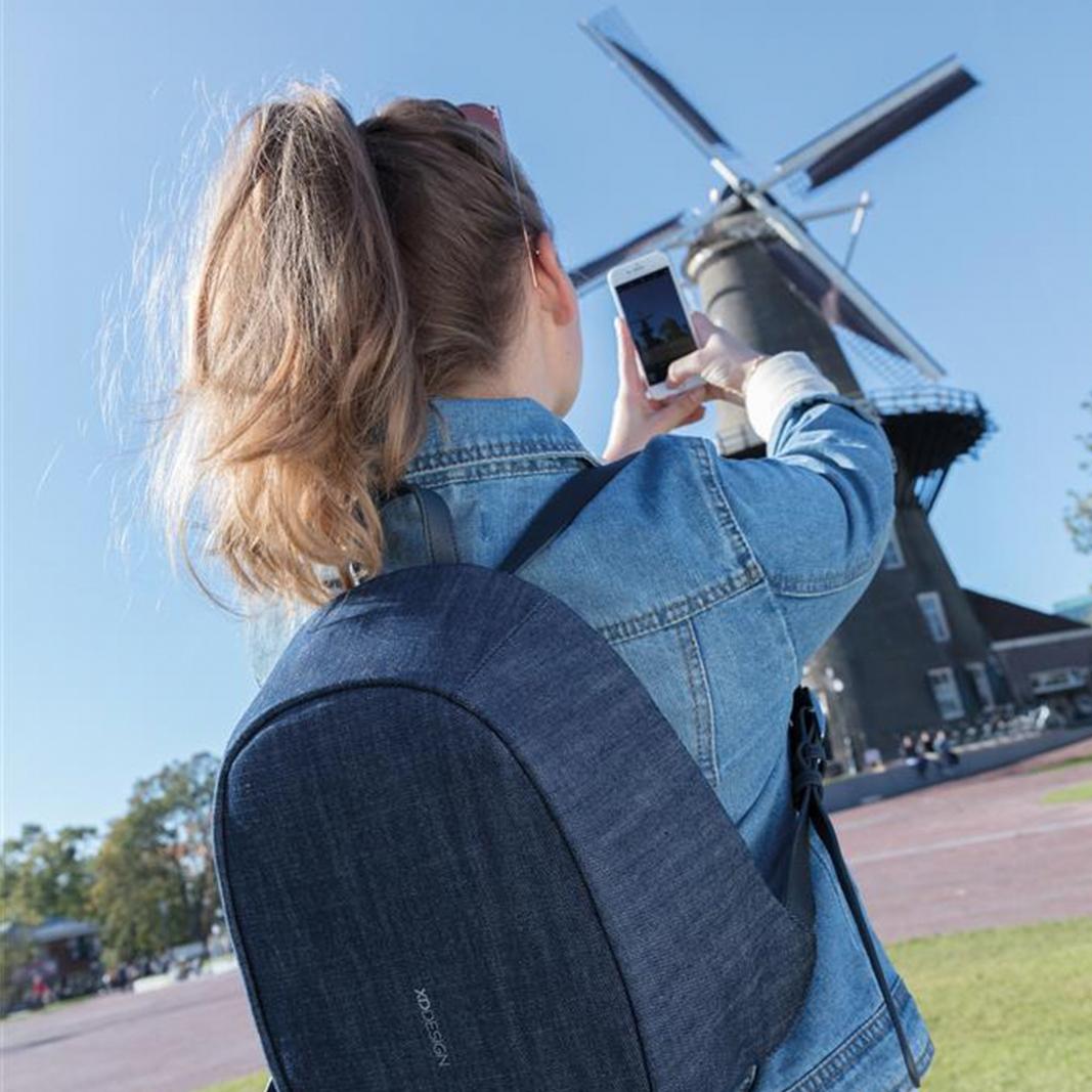 XD Design Elle Anti-theft Backpack Blue-157690