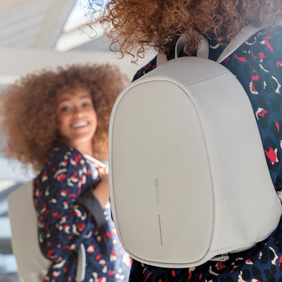 XD Design Elle Anti-theft Backpack Grey-157624