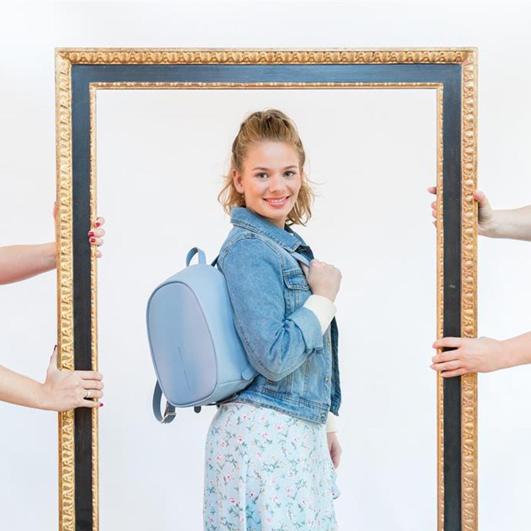XD Design Elle Anti-theft Backpack Light Blue-157637
