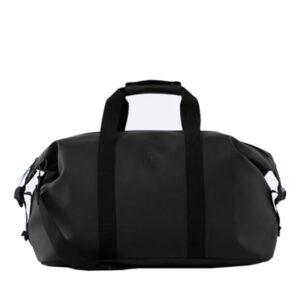 RAINS Weekend Duffel Bag Black-0