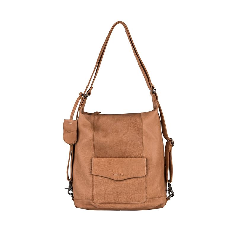 Burkely Just Jackie Backpack 2-Way Cognac-0