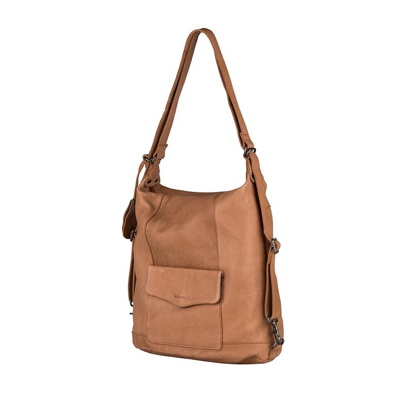 Burkely Just Jackie Backpack 2-Way Cognac-160384