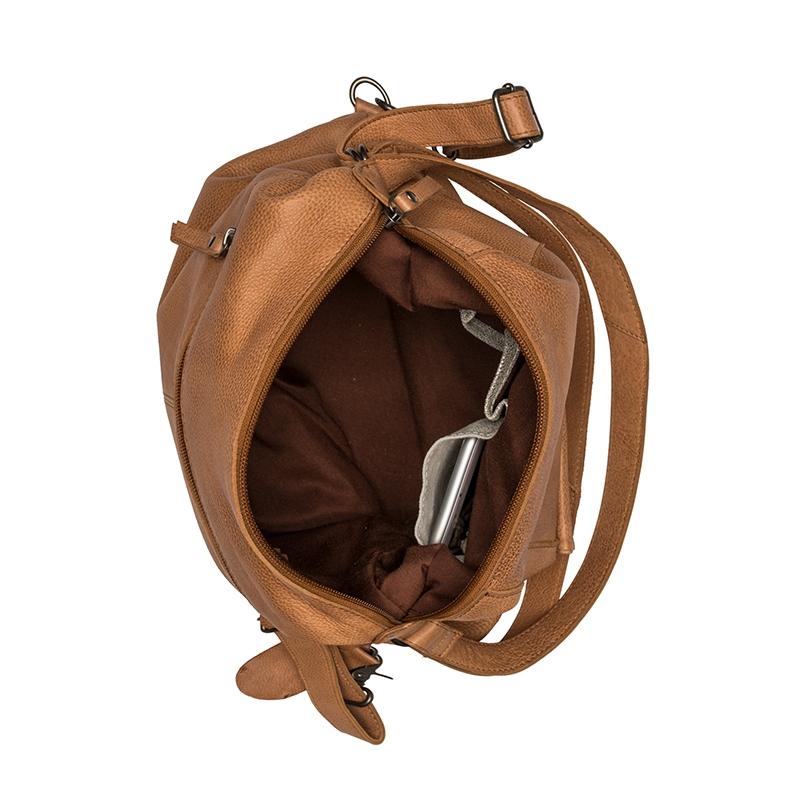 Burkely Just Jackie Backpack 2-Way Cognac-160386