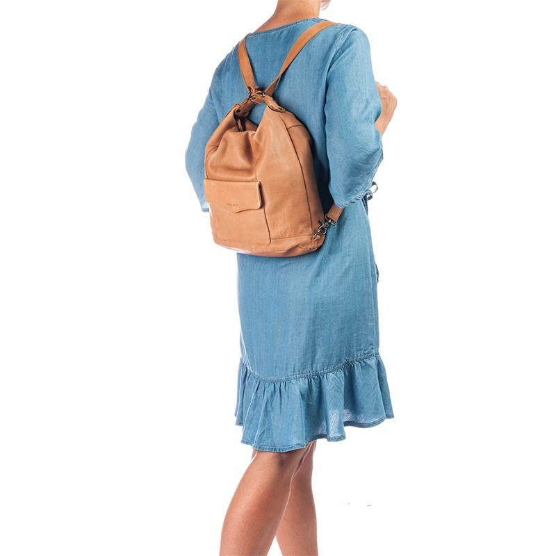 Burkely Just Jackie Backpack 2-Way Cognac-160388