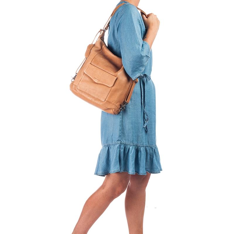 Burkely Just Jackie Backpack 2-Way Cognac-160389