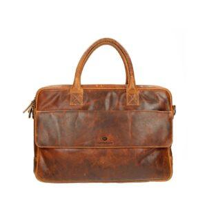 Micmacbags Colorado Laptoptas 15″ Cognac