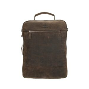 Micmacbags Oklahoma Backpack 15-inch Dark Brown