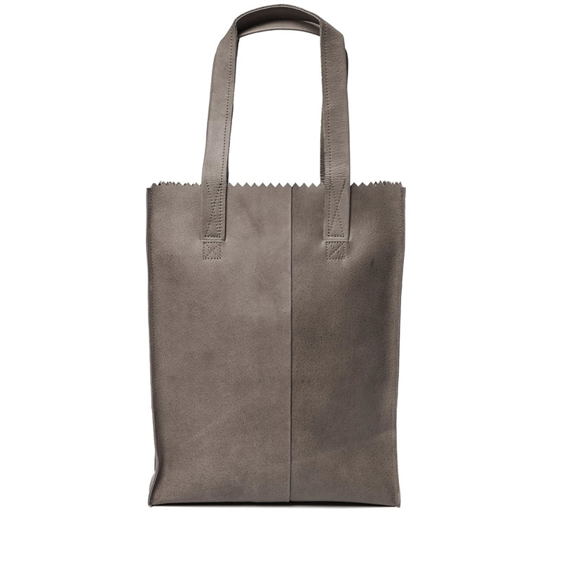MYOMY My Paper Bag Long Handle Zip Hunter Taupe-159757