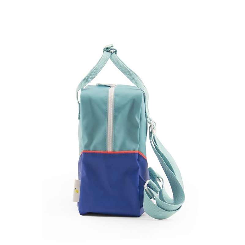 Sticky Lemon Backpack Diagonal Small Retro Mint / Ink Blue-160183