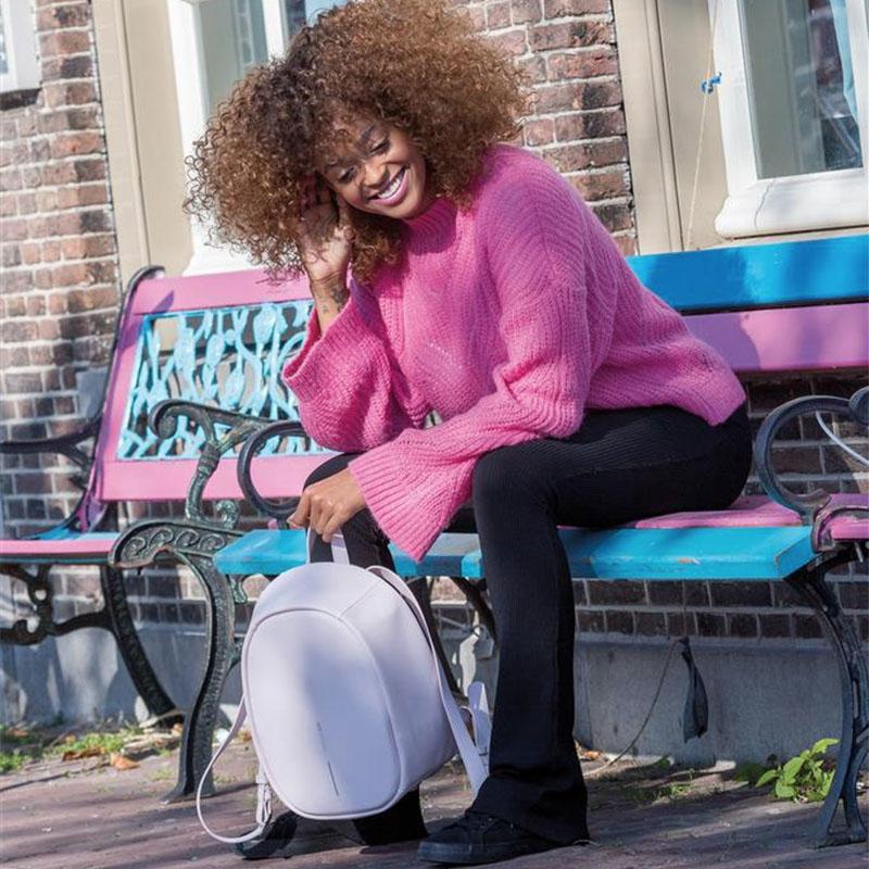 XD Design Elle Anti-theft Backpack Pink-159968