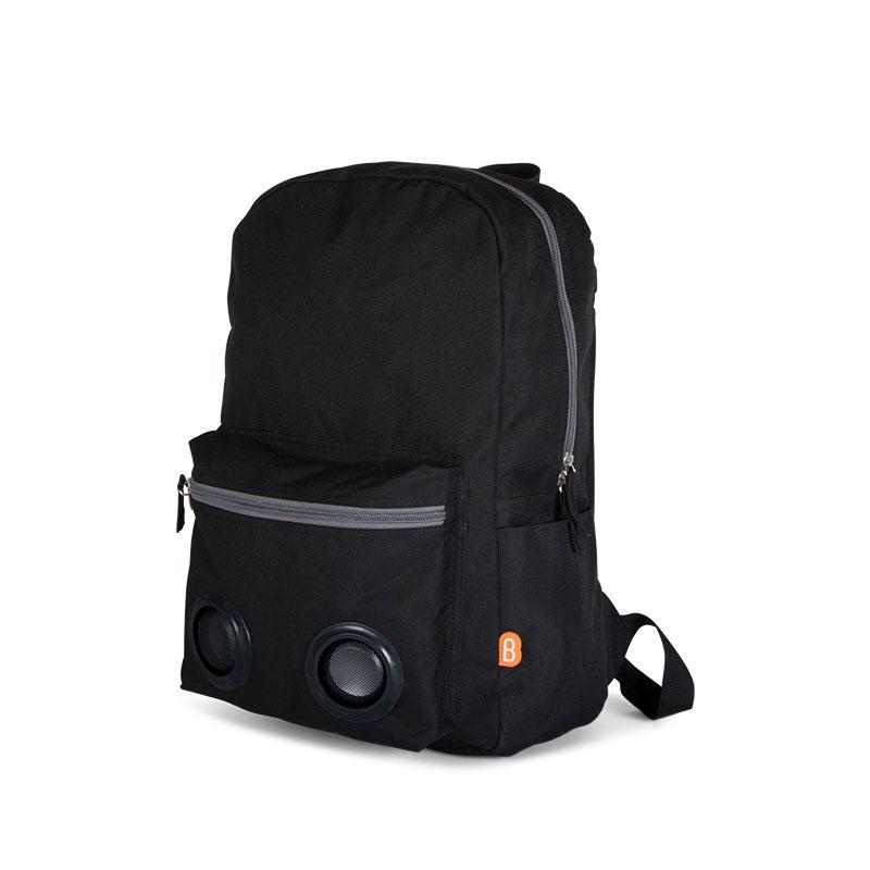BoomZac Speaker Backpack Black-0