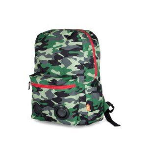 BoomZac Speaker Backpack Camo