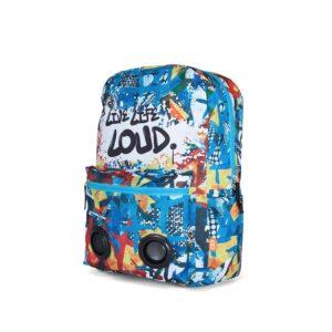 BoomZac Speaker Backpack Graffiti-0